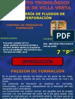 Control de Presion de Formacion