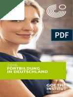 Fortbildung in Deutschland 20161