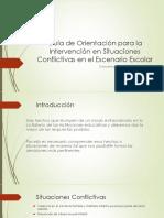 Guía de Orientación Para La Intervención en Situaciones