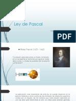 Ley de Pascal (Mecanica de Fluidos)