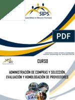 Administración de Compras y Evaluación de Proveedores Presentación