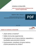 Presentación Clusters en Periferia RED PYME (2017 Pesca y Madera)