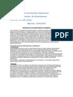 Fundamentos de Esterilización - - Material Final