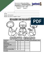 ExamenDiagnosticoQUINTO17-18