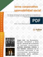 Gobierno Corporativo y La Responsabilidad Social