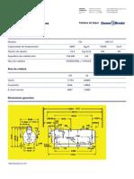 DATOS TECNICOS CLEAVER BROOKS FTCB-300CC
