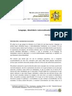 López Soria_Lenguaje, Identidad e Interculturalidad