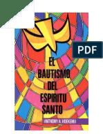 Bautismo Espíritu Santo A. Hoekema