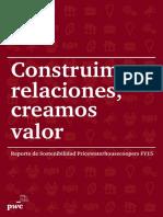 PWC, Reporte de Sostenibilidad 2015