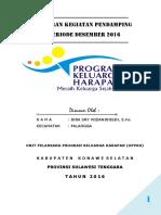 Laporan Bulan Desember 2016 (Ikra Sry Widaningsih)