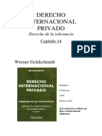 DER. INTERNACIONAL PRIVADO. GOLDSHMINDT-Capitulo 14