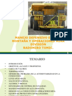 MANEJO Defensivo Operaciones Mina 2016 Enero 21 FINAL FINAL