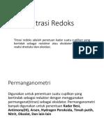 Titrasi Redoks (Sari)