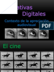 Narrativas Digitales - Contexto de La Apreciación Audiovisual