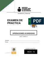 Examen de Práctica Operaciones Avanzadas