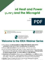 Microgrid and CHP Webinar