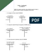 Taller - Analizando La Cuenta T