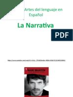 Tema 1 Narrativa Artes Del Lenguaje en Español 7mo