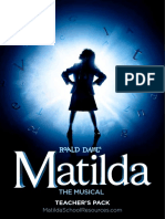 Matilda Education Production Pack