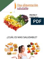 Alimentacion Saludable Frutas y Verduras