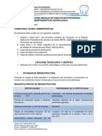 Recomendaciones Prof. Independiente en Odontologia Dr. Jairo Romero