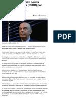 STF autoriza inquérito contra senador José Serra (PSDB) por suspeita de caixa 2 - Notícias - Polític