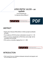 Perforated Peptic Ulcer – an Update