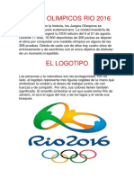 Juegos Olimpicos Rio 2016