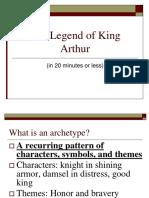 Arthurian Legend Power Point