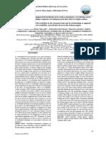 Variabilidad espacio-temporal de las lluvias en la cuenca amazónica y su relación con la variabilidad hidrológi