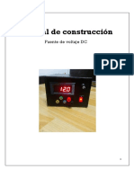 Manual de Construcción Fuente de Voltage