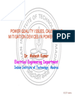Power Quality Issues and Concerns NIT Surathkal Oct 25 2008