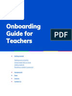 onboarding guide for free teachers
