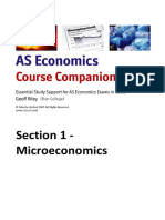 As Economics Section 1 Microeconomics (1)