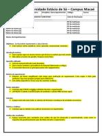 Modelo de Relatório