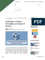 Debian 9 3.Virtualbox