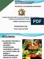 PLANTAS-BIOCIDAS
