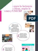 10 Pasos Para La Lactancia Materna Eficaz,