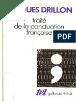 Traité de La Ponctoation de Francais