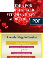 Anemia Por Deficit de B12