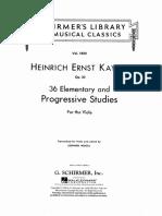 Kayser 36 Viola Elementary and Progressive Studies.pdf
