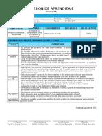 SESION DE APRENDIZAJE 2017 - Aritmética 6º G - III - BIMESTRE.doc