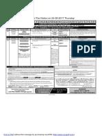 PPSC  Advt 46-2017 - 23-08-20..
