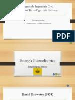 Exposición Energía Piezoeléctrica