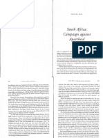23 South Africa Campaigning Against Apartheid