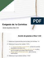 1 Corintios - Acción de Gracias 1_4-9
