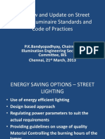 Overview and Updated on Street Lighting Standards and Practices _by PK Bandyopadhay