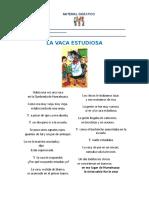 Esp_Actividades Con La Vaca Estudiosa
