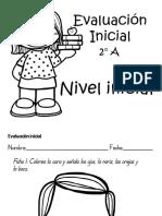 Evaluación Inicial 2° A