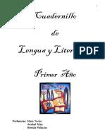 Cuadernillo Lengua y Literatura 1 Año
